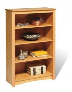 SOLD Maple 4-shelf Bookcase