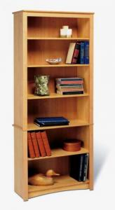 SOLD Maple 6-shelf Bookcase