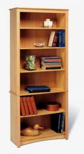 SOLD Maple 6-shelf Bookcase