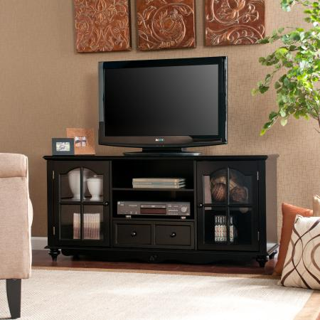 Coventry Large TV Console - Antique Black