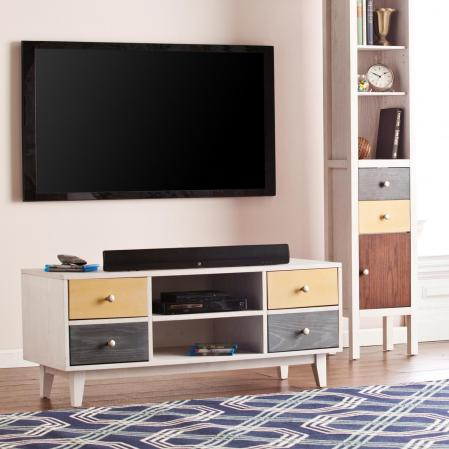 Cadman 4-Drawer TV/Media Stand