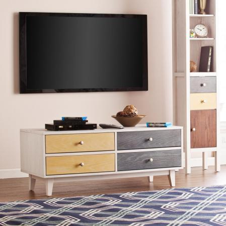 SOLD Cadman 4-Drawer TV Console