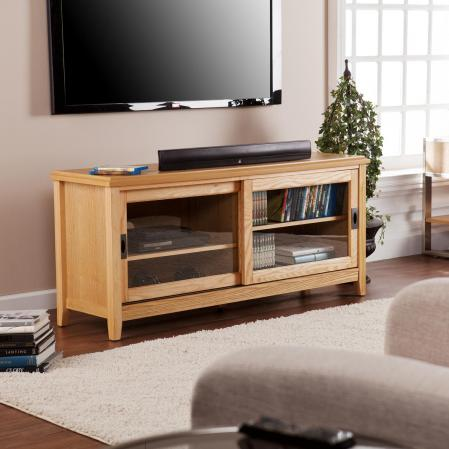 Essex Tv/Media Stand - Natural Oak