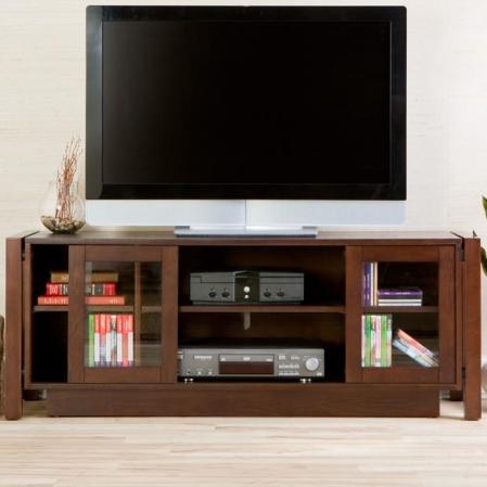 SOLD TV Stand/Media Console - Espresso