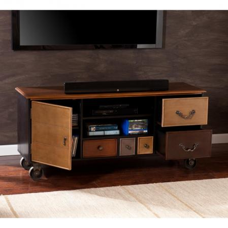 Eclectic TV/Media Stand