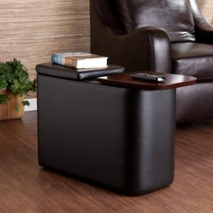 Entertainment Companion Table - Black