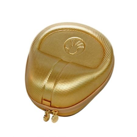 Full Sized HardBody PRO Headphone Case - Gold/White