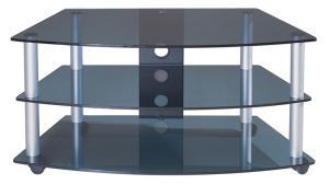 TV Stand with AV Shelves