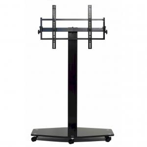80 Inch TV Mounting System With Casters