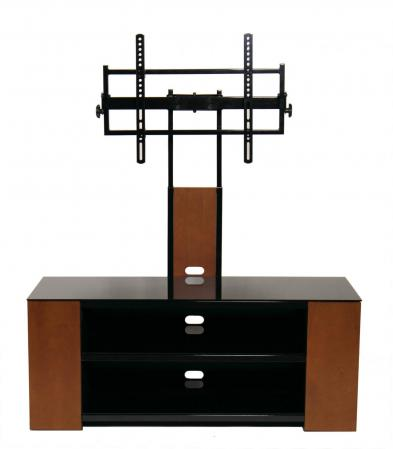Versatile TV Stand with Multimedia Storage Cabinet for Up to 90 inch TV